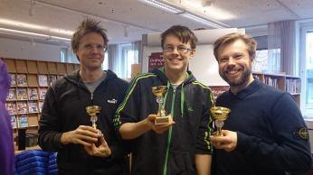 Vinnarna: 2 - Anders Olsson (tritoch), 1 - Nils Lundström (GLXKBLT), 3 - Henrik Dahlgren (Spexhenke)