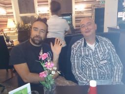 Kristoffer Wolke och Mikael Olausson