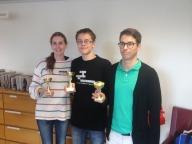 Vinnarna (2 - Ellen Bergstrand, 1 - Nils Lundström, 3 - Fredrik Hörnberg)