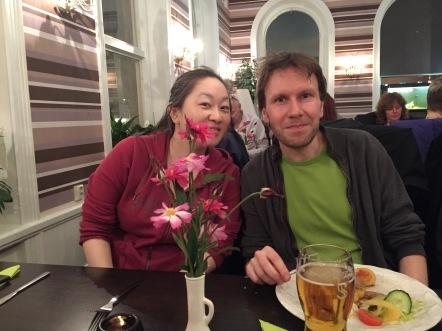 Hanna Sölver och Christian Nilsson.