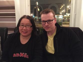 Maria Stenlund och Ari Mustonen.