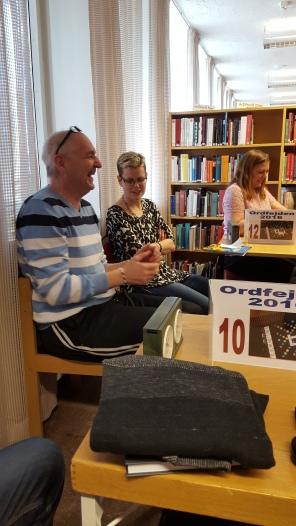 Tonny Bäckström, Inga-Lill Rutgersson och Jessica Käll.