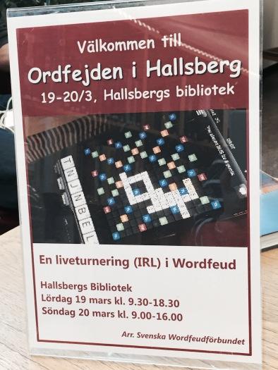 Ordfejden i Hallsberg 2016