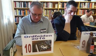 Rond 10: Nils Stenlund (Paanga) och Conny Selsfors (ordinär64). Johan Skoog (njskoog) i bakgrunden.