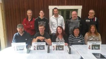 Överst: Bengt Schmeling (uddebo1), Nils Lundström (GLXKBLT), Conny Selsfors (ordinär64), Bo Langtorp (Zapphod), Nils Stenlund (Paanga). Underst: Janne Corax (Stormkorp), Anders Ådahl (MrSfinx), Annica Hallberg (Niccame), Maria Stenlund (Misssaigon), Jessica Käll (Sing star).