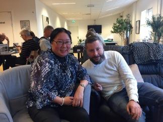 Maria Stenlund och David Månsson.